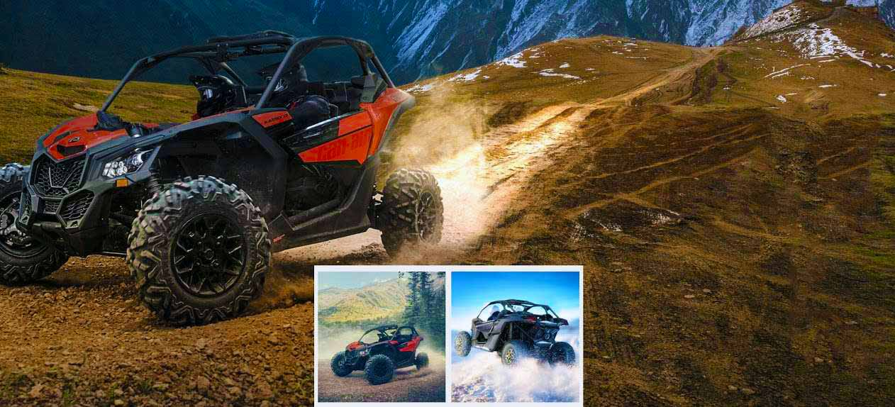 Buggy Tours - can am maverick x3